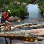 Trilha para Cachoeira do Herculano