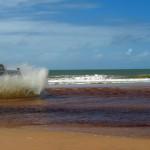 Saída Penisula Marau pela praia até Itacaré
