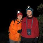 Renato e Luciana preparando para subida ao Pico da Bandeira