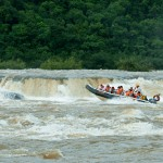 Salto do Yucumã – com rio cheio